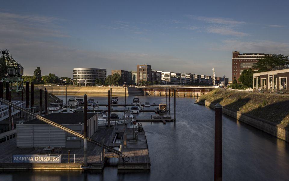 Hintergrundbild Marina im Innenhafen