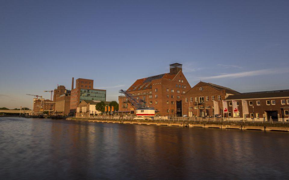 Hintergrundbild Werhahnmühle und Küppersmühle