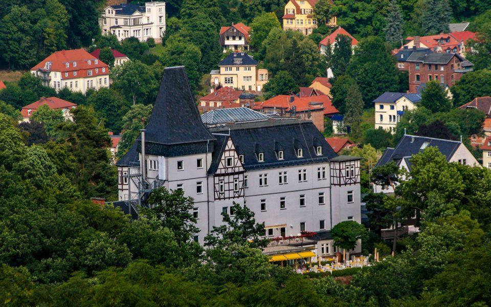 Hintergrundbild Blick in das Mariental bei Eisenach