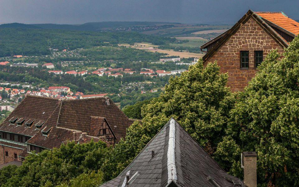 Hintergrundbild Dirnitz der Wartburg