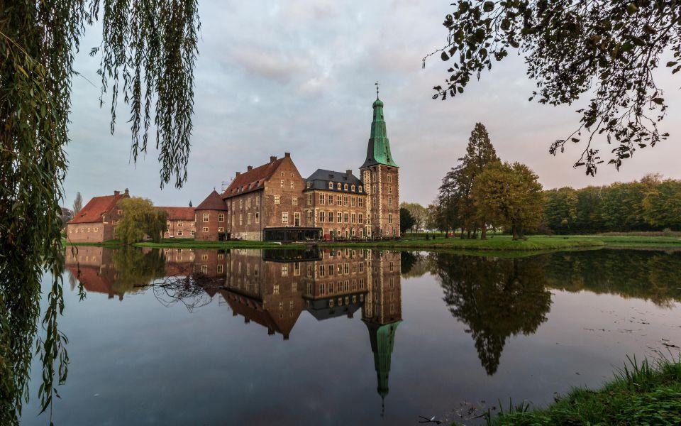 Hintergrundbild Schloss Raesfeld Dämmerung