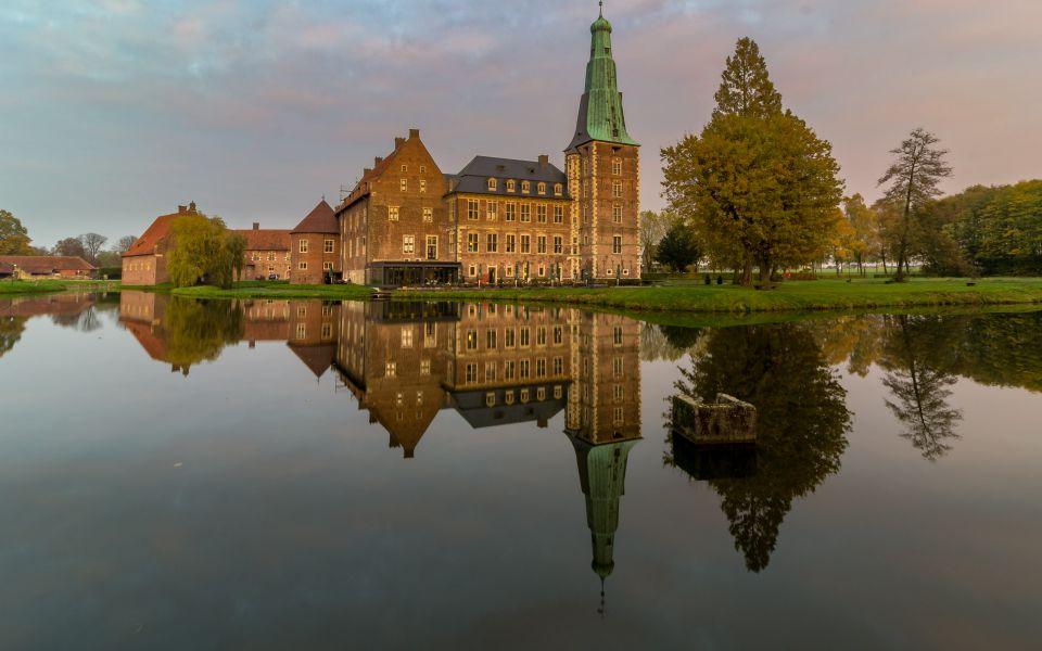 Hintergrundbild Spiegelung Schloss Raesfeld