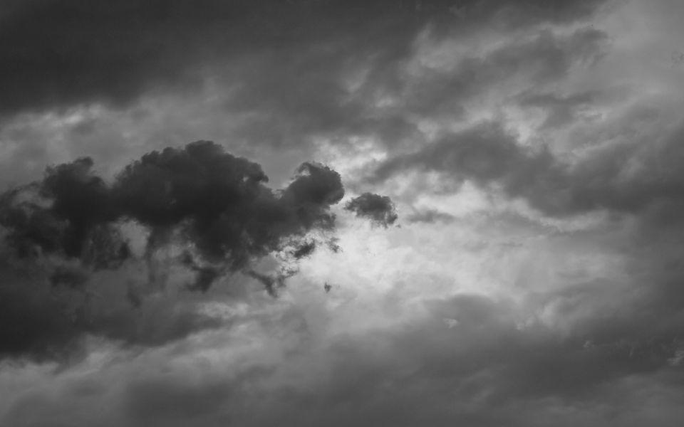 Hintergrundbild Sturmwolken