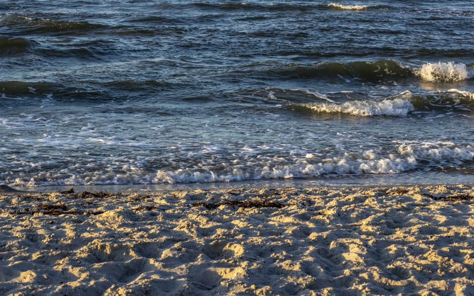Hintergrundbild Am Ostseestrand