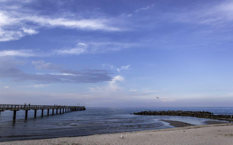 Hintergrundbild - Am Schönberger Strand