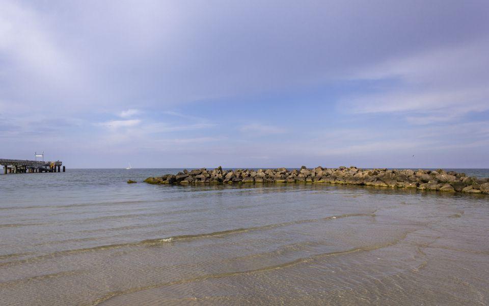 Hintergrundbild - Buhne am Schönberger Strand