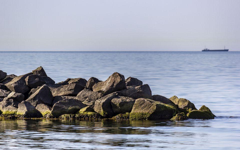 Hintergrundbild Buhne an der Ostsee