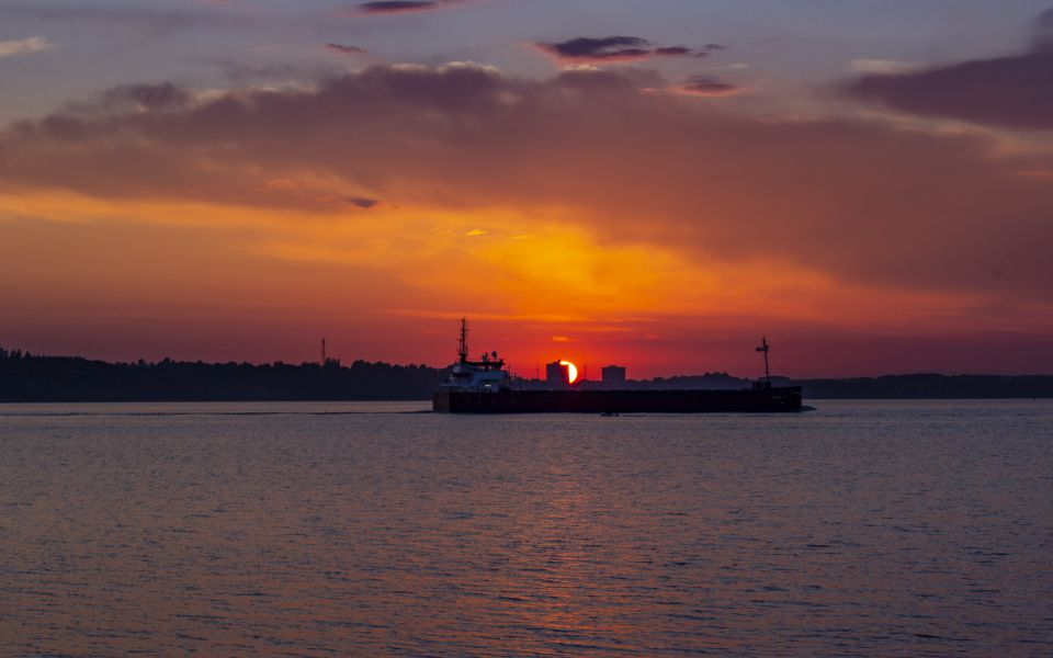 Hintergrundbild - Fantastischer Sonnenuntergang