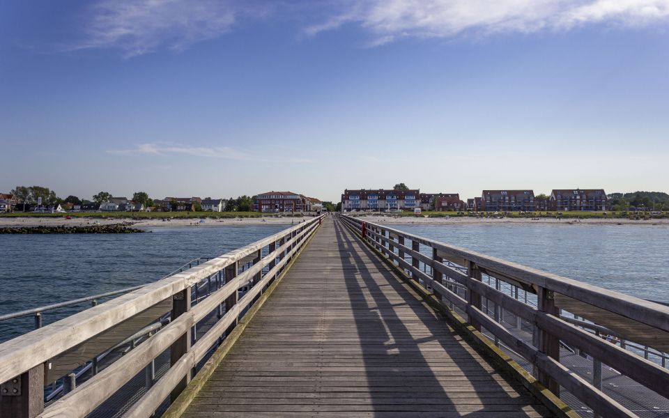 Hintergrundbild - Seebrücke Schönberger Strand