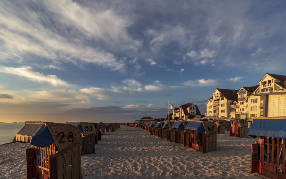 Hintergrundbild - Strandidylle in Laboe
