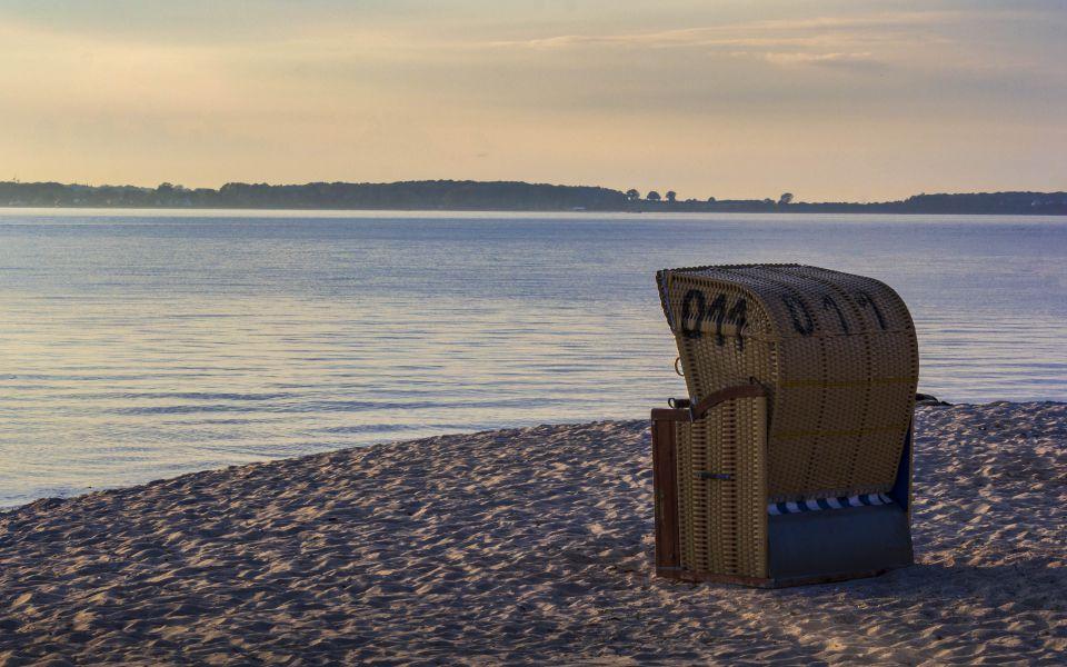 Hintergrundbild - Strandkorb 11