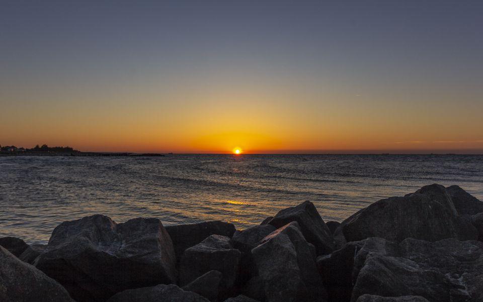 Hintergrundbild Traumhafter Sonnenuntergang
