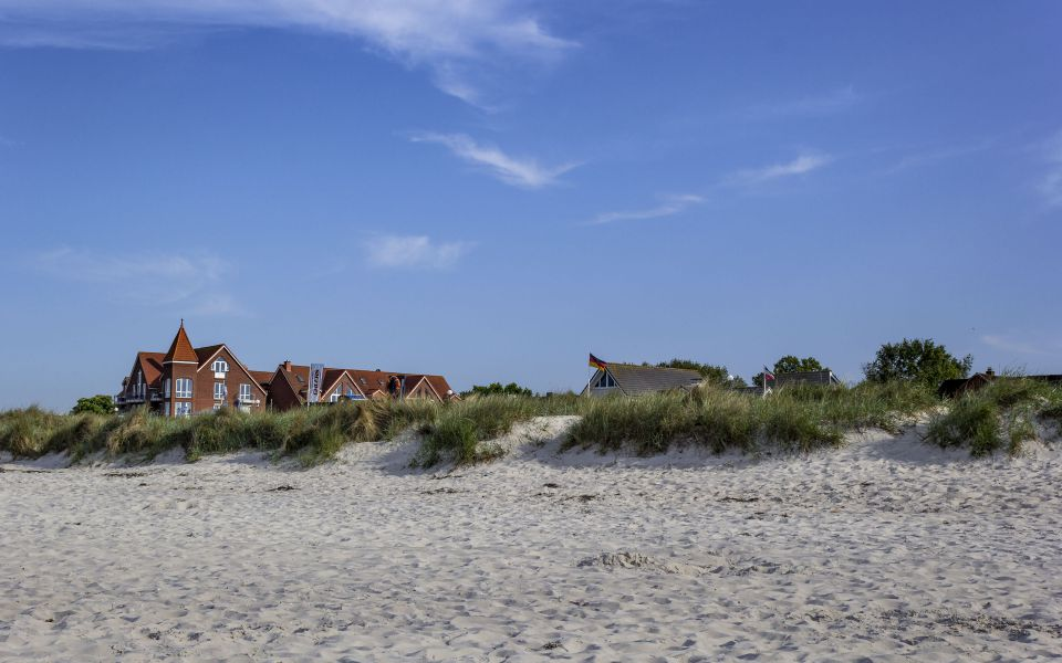 Hintergrundbild - Wunderbarer Strand in Schönberg