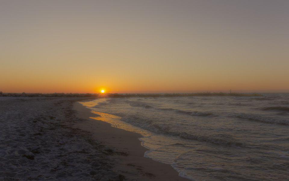 Hintergrundbild Wunderschöner Sonnenuntergang