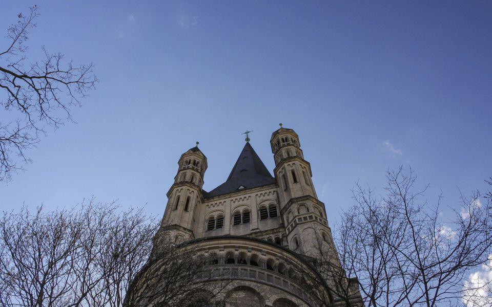 Hintergrundbild - Blick zu Groß Sankt Martin