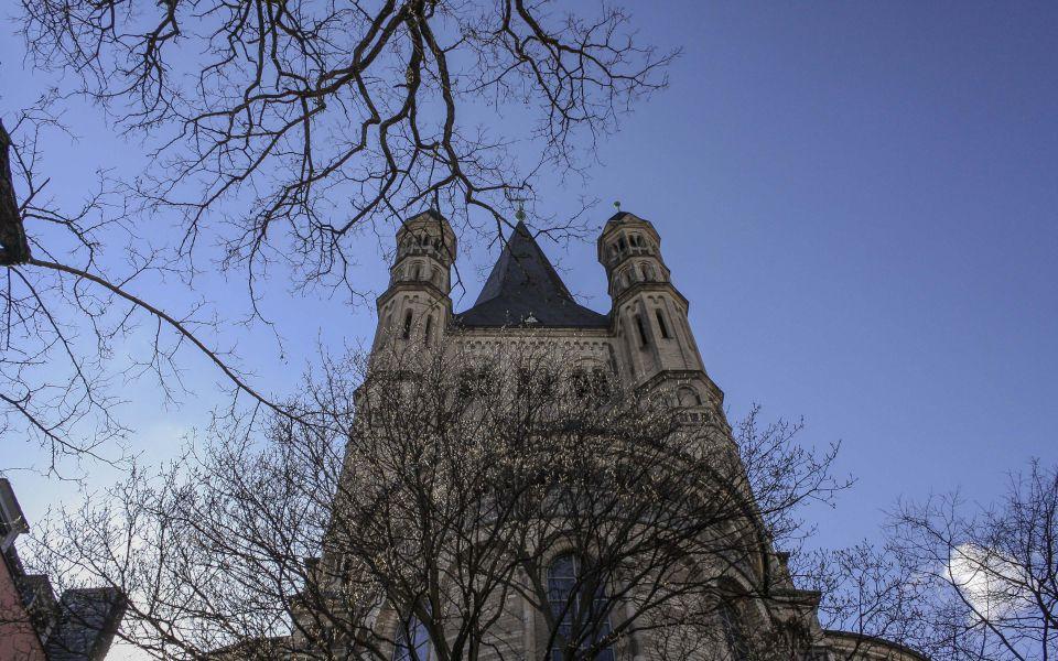 Hintergrundbild - Köln Groß Sankt Martin