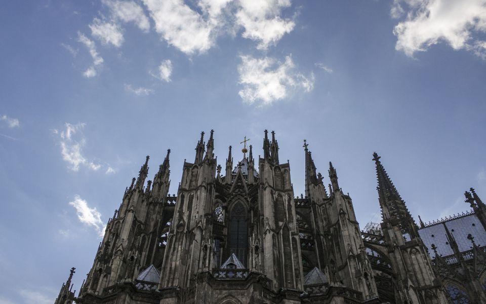 Hintergrundbild - Kölner Dom Ostseite