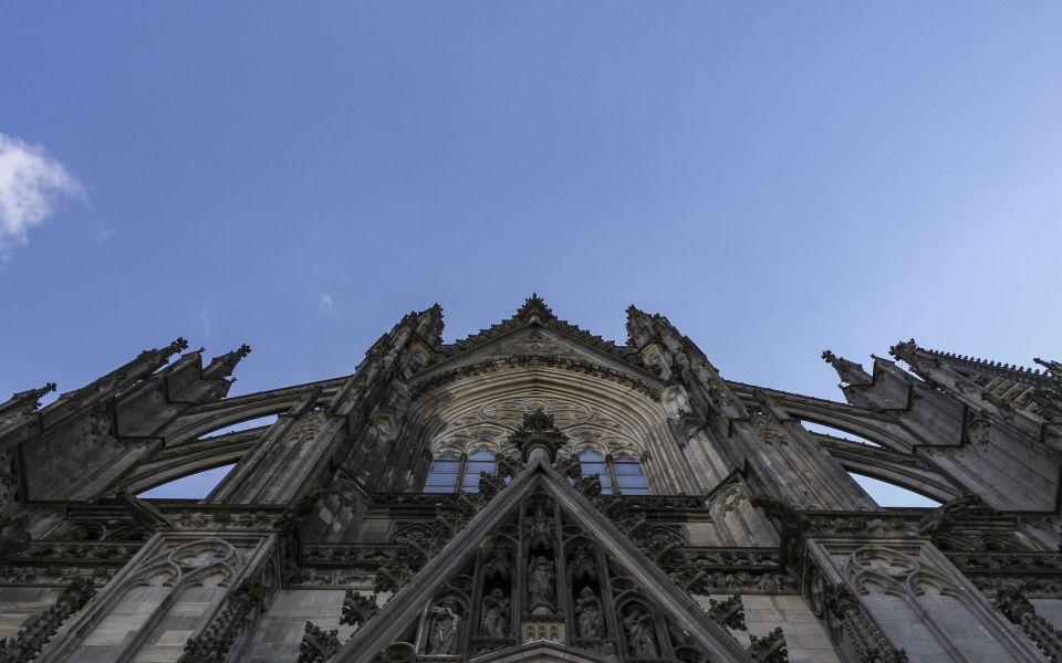 Hintergrundbild - Kölner Dom Südseite