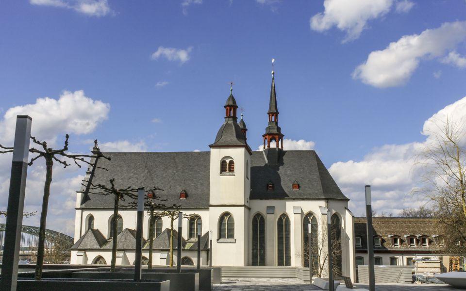 Hintergrundbild - Klosterkirche Alt Sankt Heribert