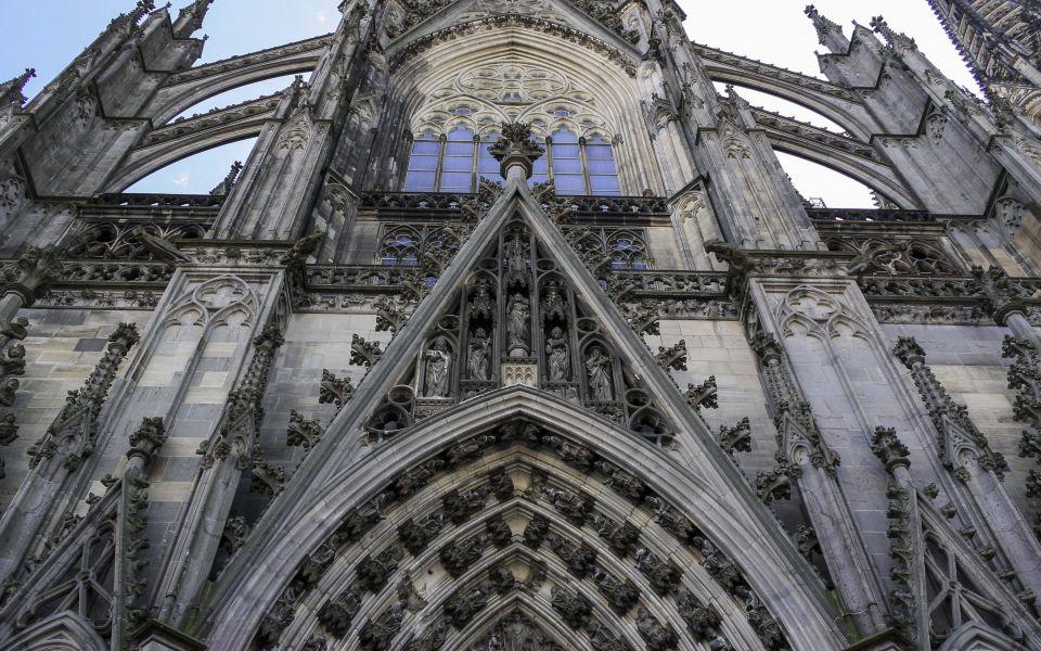 Hintergrundbild - Südseite Kölner Dom