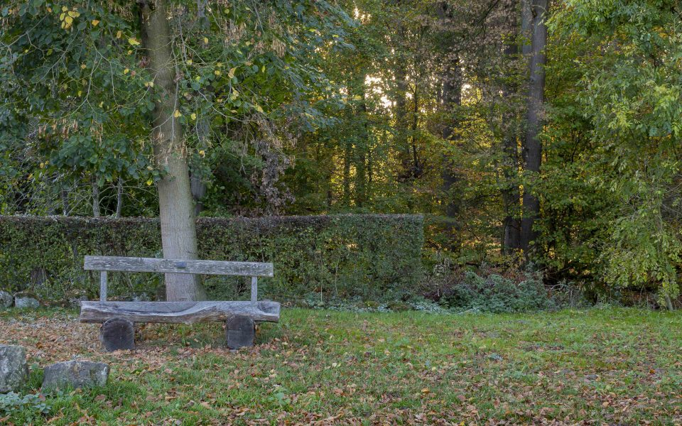 Hintergrundbild - Sitzbank zum Ausruhen