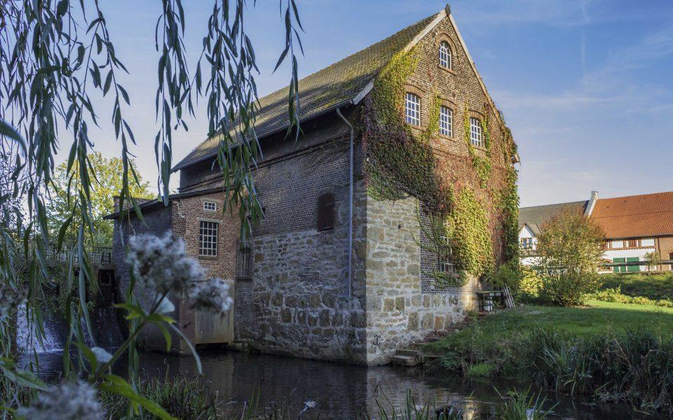 Hintergrundbild - Tüshaus Mühle vom Unterwasser