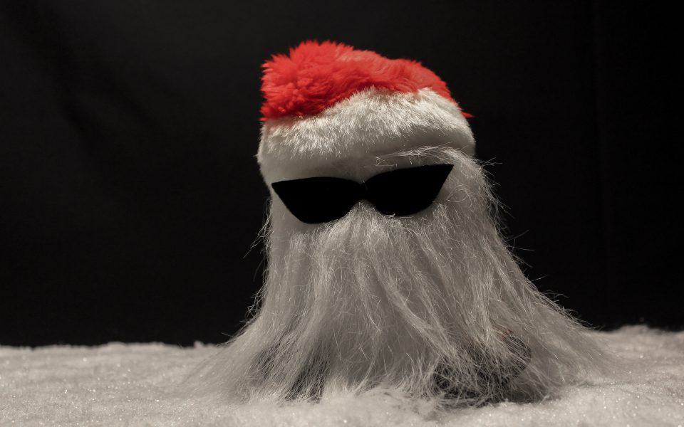 Hintergrundbild - Weihnachten Rocking Santa