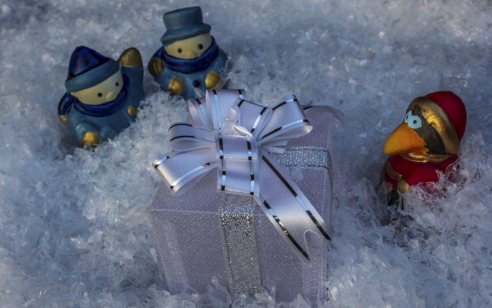 Hintergrundbild - Weihnachten Ein großes Geschenk