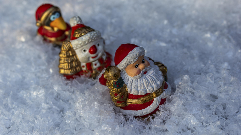 Hintergrundbild Weihnachten Wanderung Im Schnee