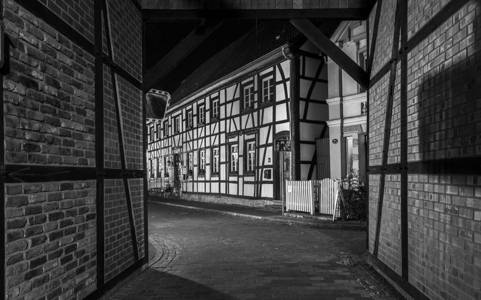Hintergrundbilder - Blick in die Schloßstraße sw
