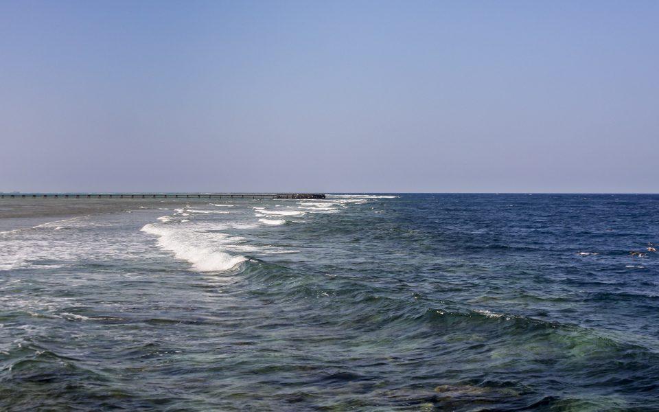 Hintergrundbilder - Brandung am Riff