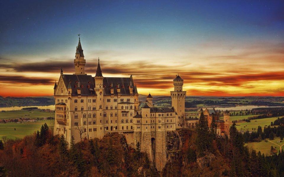 Hintergrundbilder - Schloss Neuschwanstein
