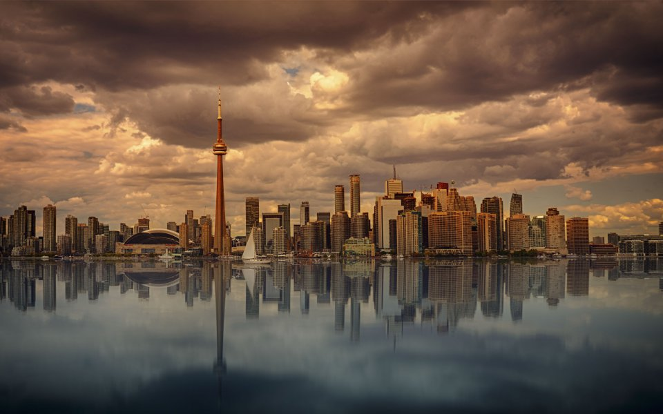 Hintergrundbilder - Skyline von Toronto