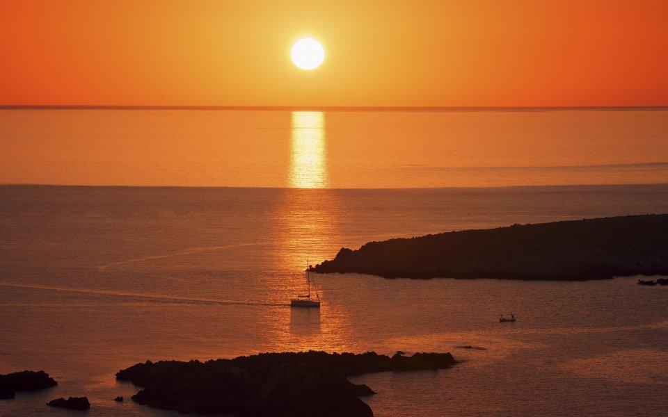 Hintergrundbilder - Wonderful Sunset - Menorca