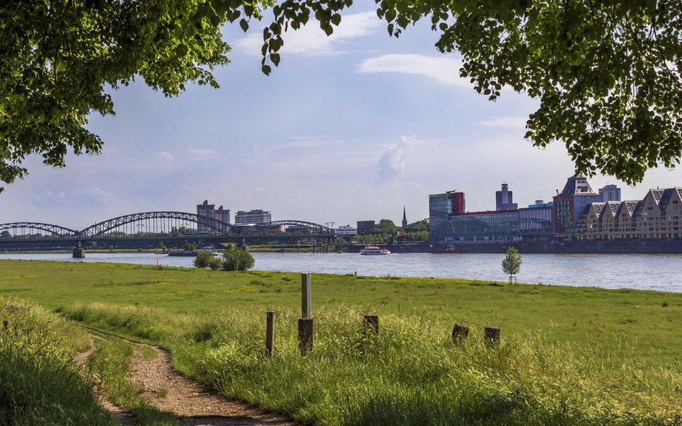 Hintergrundbilder - Pollerwiesen und Südbrücke